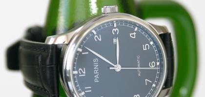 Parnis 43mm automatic